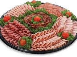 Как выложить мясную нарезку