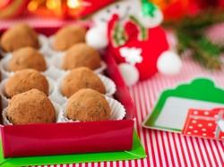 Шоколадные трюфели к Новому году (рецепт)