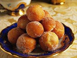 Готовим ароматные яблочно-апельсиновые пончики