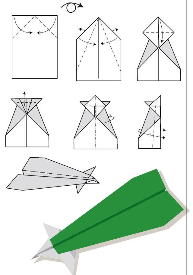 Как сделать самый лучший самолетик из бумаги